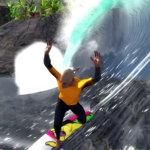 New surfing video game