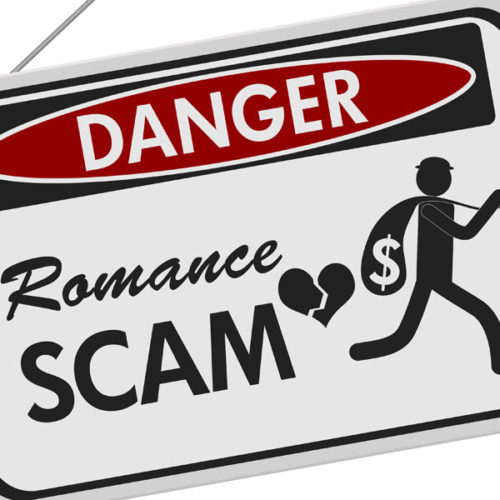 Don't friend a scammer this Valentine's Day