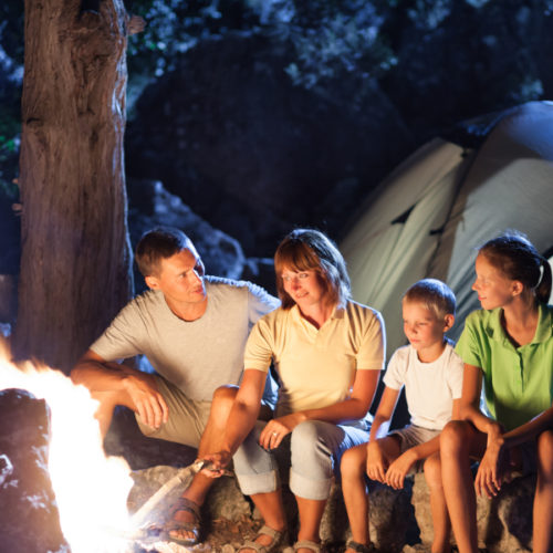 Half price fees see camping surge over the school holidays