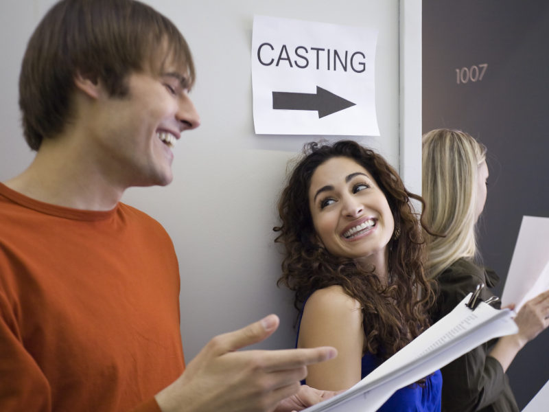 audition stock image